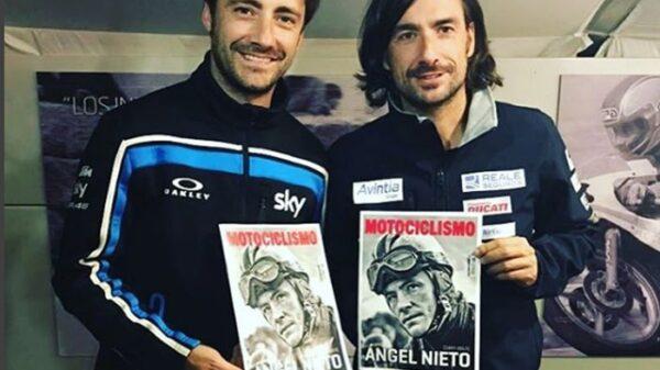 Gelete y Pablo Nieto, hijos mayores de Ángel Nieto