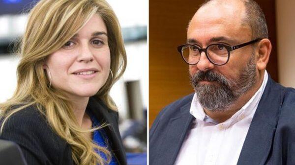 Eva Ortiz y Enric Nomdedeu