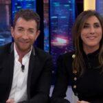 Paz Padilla con Pablo Motos en 'El Hormiguero'