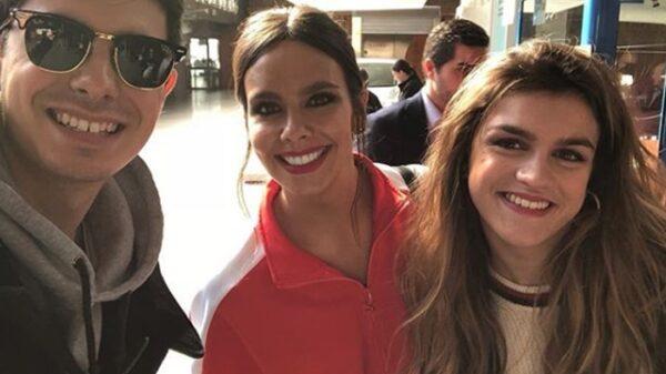 Cristina Pedroche junto a Amaia y Alfred