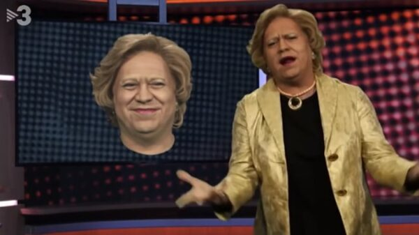 Pilar Rahola parodiada en 'Polónia'