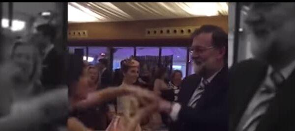 Mariano Rajoy bailando 'Mi gran noche'
