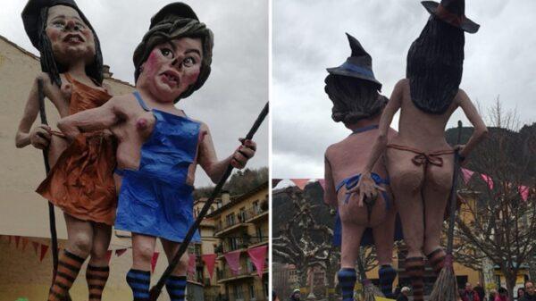 Las figuras del carnaval de Ripoll