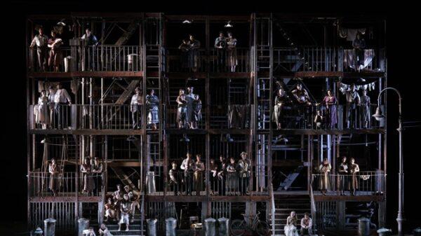 Plano general de la ópera 'Street Scene'