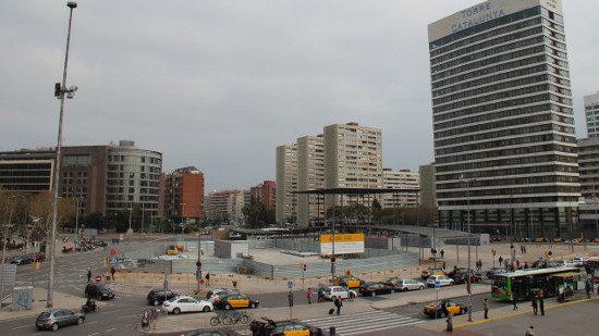 La Plaza Països Catalans de Barcelona