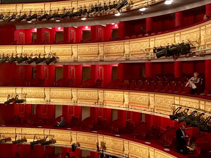 Palcos del Teatro Real