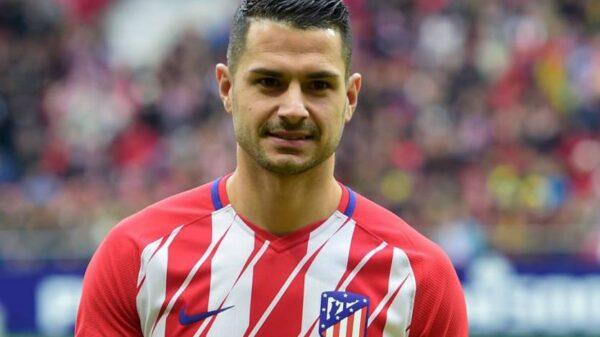Vitolo, jugador del Atlético de Madrid