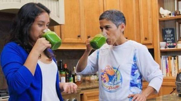 La youtuber Mari López y su sobrina