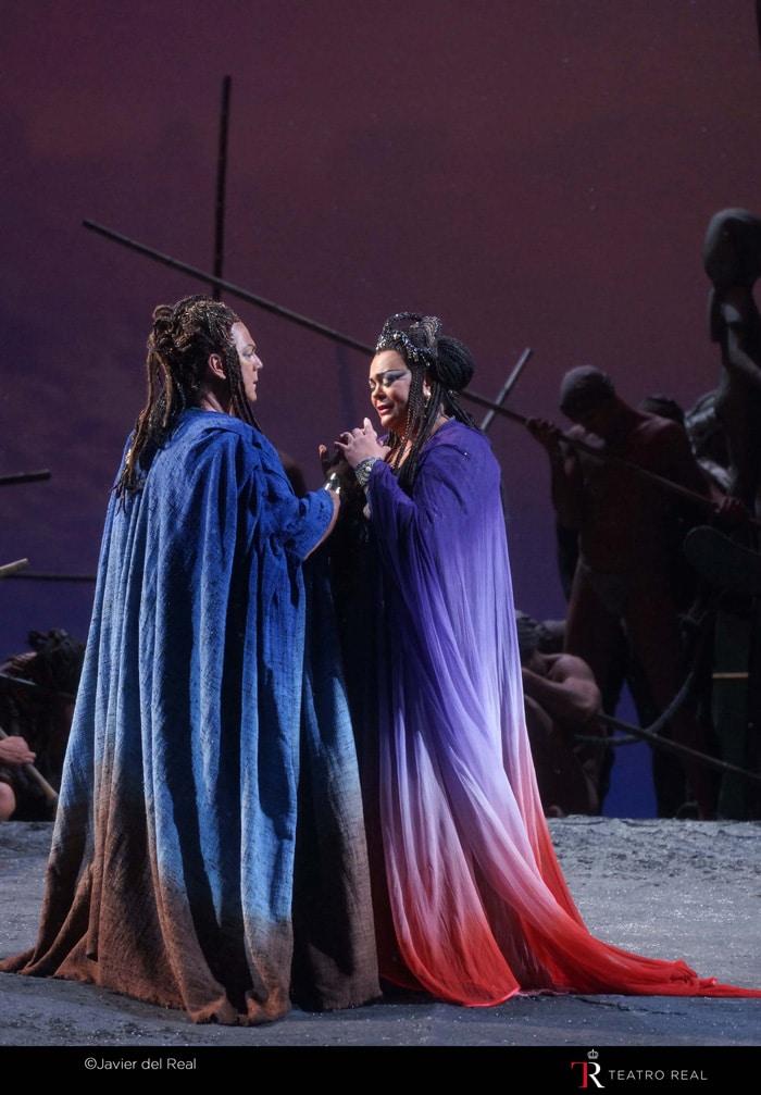 Momento de la ópera 'Aida'