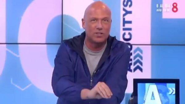 El presentador Alfonso Arús