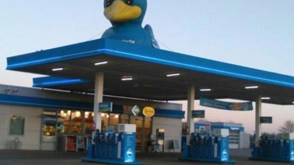 La gasolinera alemana en la que fue detenido Puigdemont