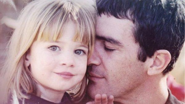 Antonio Banderas con su hija, Stella del Carmen