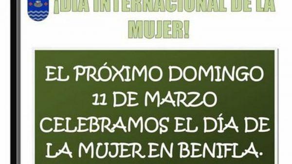 Cartel promocional del Ayuntamiento de Beniflá