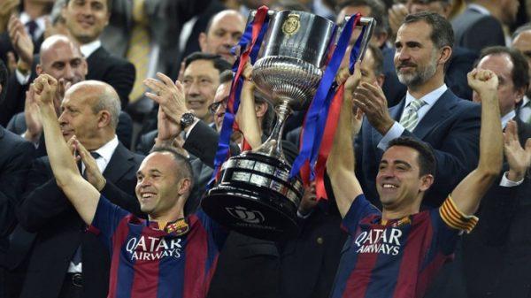 El Barcelona en una final de Copa del Rey