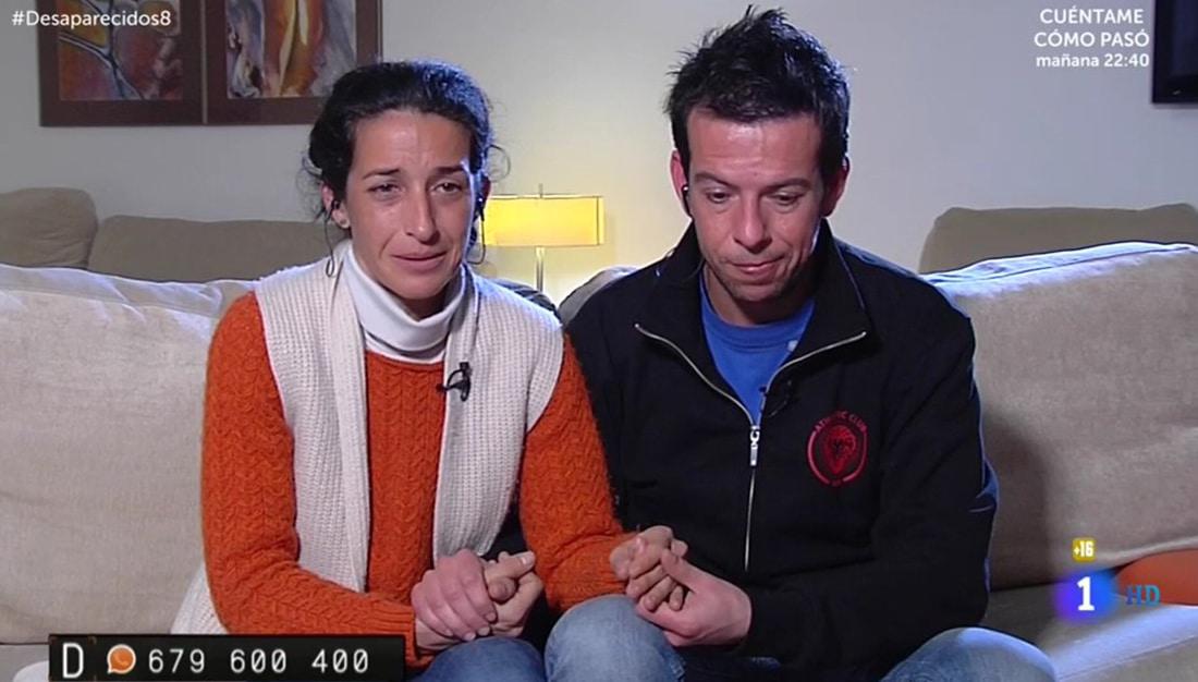 Patricia Ramírez y Ángel Cruz en 'Desaparecidos'