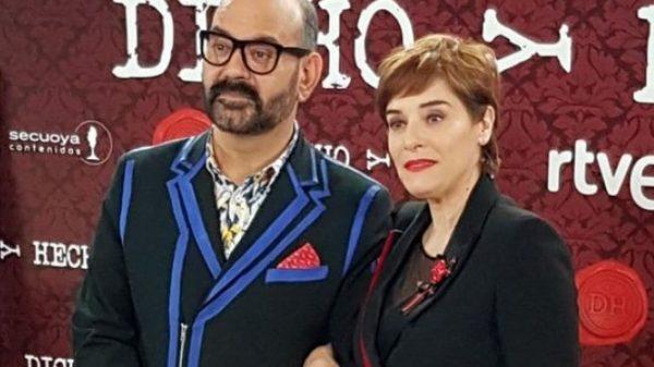 José Corbacho y Anabel Alonso