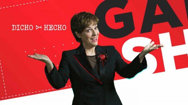 Anabel Alonso en la promo de 'Dicho y hecho'
