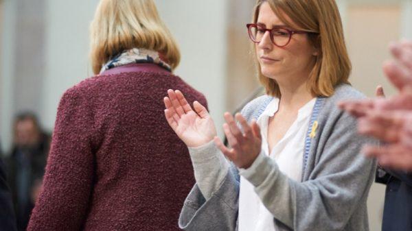 Elsa Artadi el pasado sábado en el Parlament