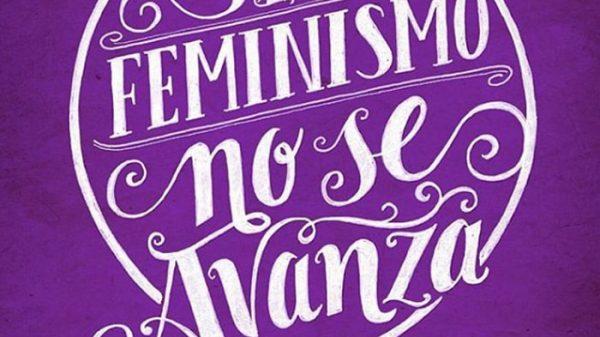 Uno de los carteles de la huelga feminista