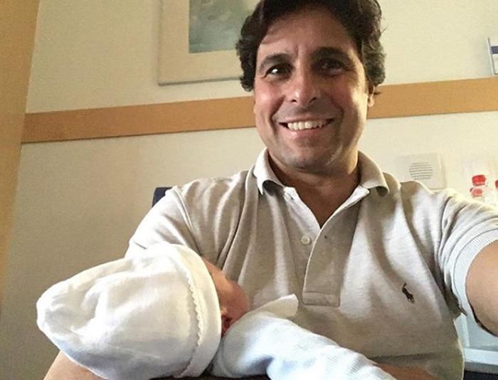 Fran Rivera con su sobrino