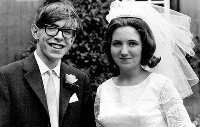 Stephen Hawking con Jane Wilde