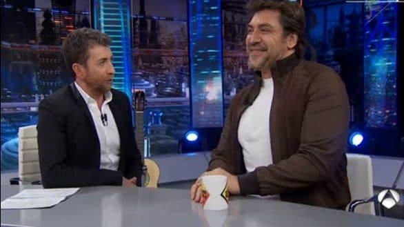 Javier Bardem en 'El Hormiguero'