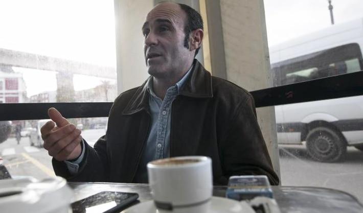 Javier Ledo en una entrevista con 'La Nueva España'