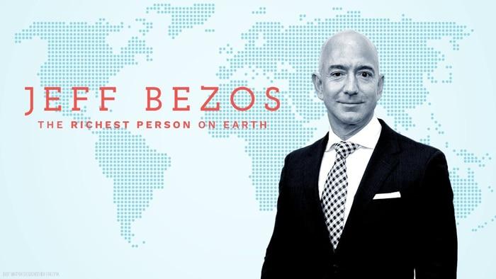 El millonario Jeff Bezos