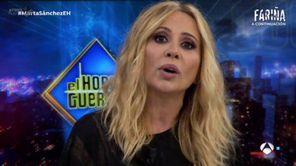 Marta Sánchez en 'El Hormiguero'