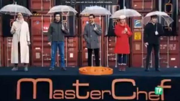 El jurado y presentadora de 'Masterchef'