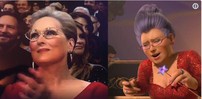 Meryl Streep, protagonista de uno de los memes de los Oscar 2018
