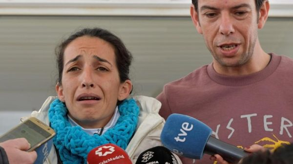 Patricia y Ángel, padres de Gabriel Cruz