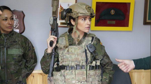 Paula Echevarría empieza 'Los Nuestros'