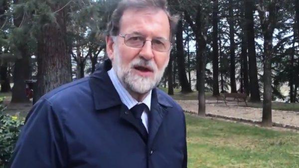 Mariano Rajoy en el vídeo