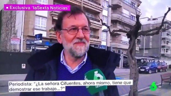 Mariano Rajoy al ser preguntado por Cifuentes