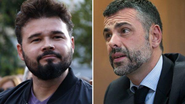 Gabriel Rufián y Santi Vila