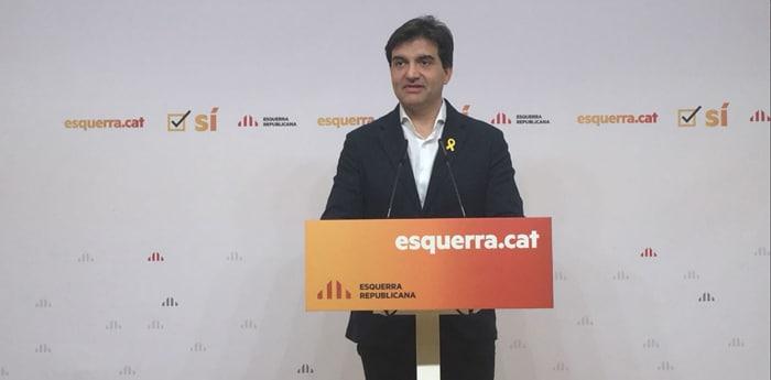 El portavoz de ERC, Sergi Sabriá