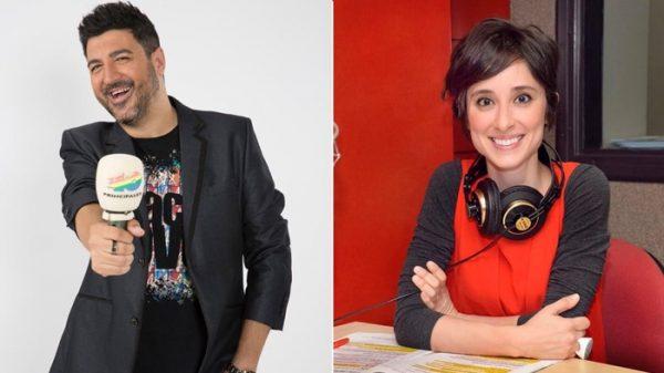 Tony Aguilar y Julia Varela