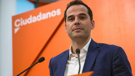 Ignacio Aguado, líder de Ciudadanos en Madrid