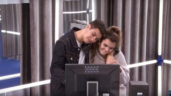 Amaia y Alfred en el vídeo de 'Your Song'