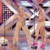 Lapili y Jirafa Rey durante su actuación de 'Cómeme el donut'