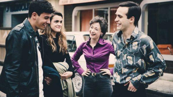 Alfred y Amaia con Elena Rivera y Ricardo Gómez