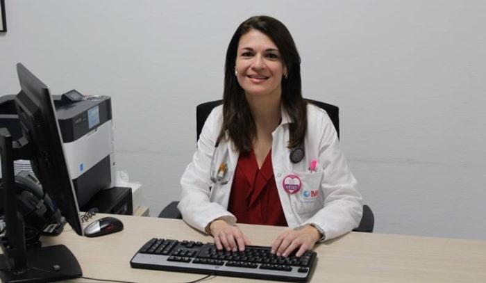 La doctora Herrera