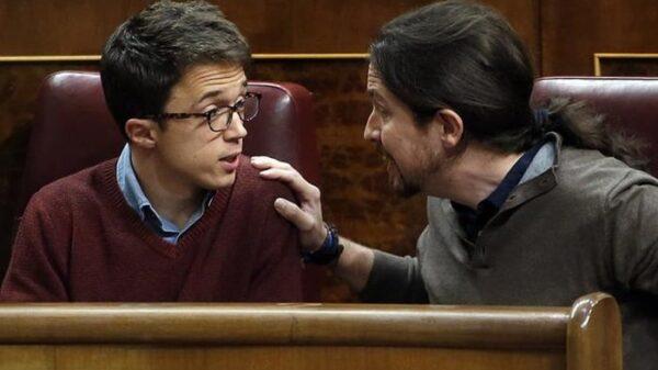 Íñigo Errejón y Pablo Iglesias