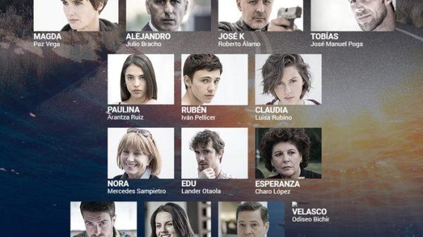 Los personajes de 'Fugitiva'
