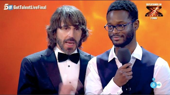 César Brandon, ganador de la tercera edición de 'Got Talent'