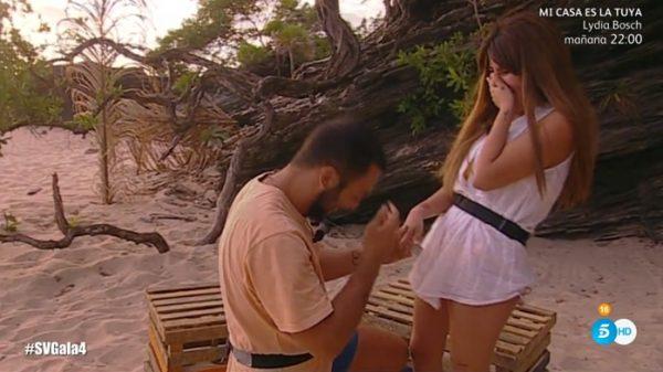 Isa Pantoja y Alberto Isla en 'Supervivientes'
