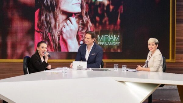 Javier Cárdenas con Miriam, que sufre parálisis cerebral