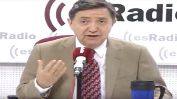 Federico Jiménez Losantos en su programa de este viernes