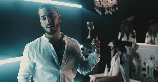 El cantante Maluma